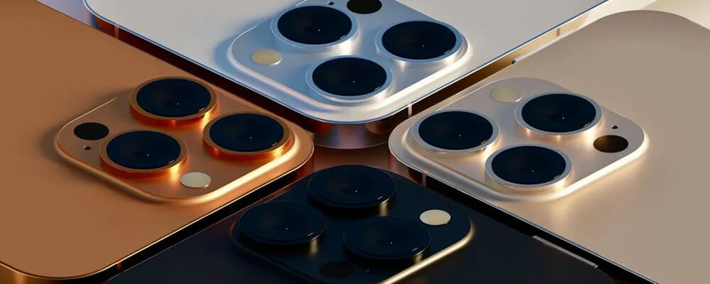 Sunset gold and rose gold, the new colors for iPhone 13 Pro
